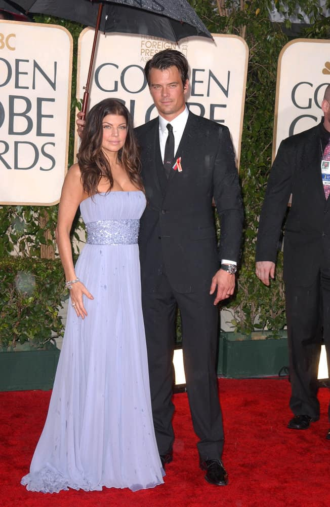 Fergie and Josh Duhamel at the 67th Annual Golden Globe Awards, Beverly Hilton Hotel, Beverly Hills, CA