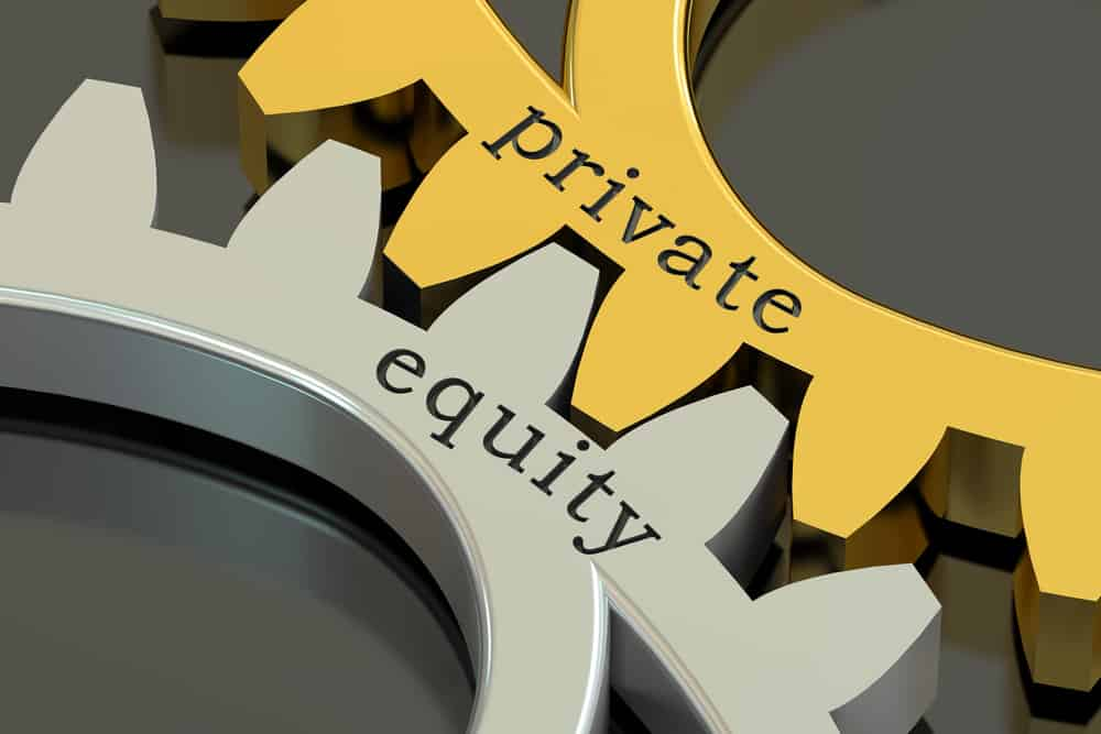 Private equity sign
