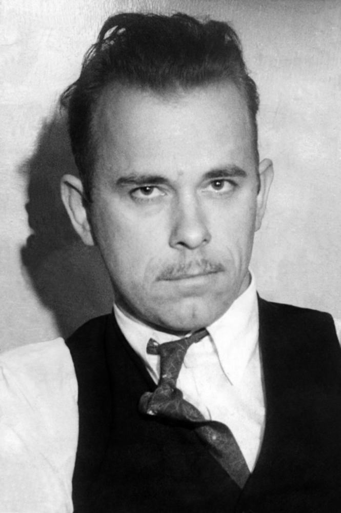 John Dillinger, Public Enemy Number 1, in 1934.
