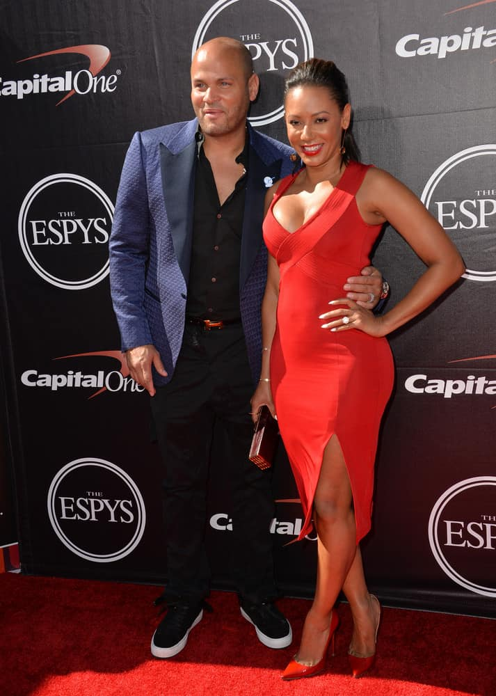 Mel B & husband Stephen Belafonte at the 2015 ESPY Awards at the Microsoft Theatre LA Live