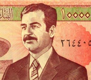 Saddam Hussein portrait