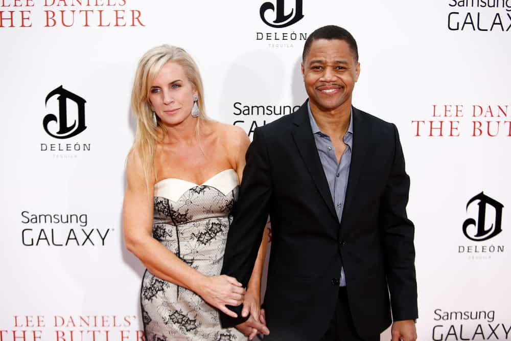 "Sara Kapfer (L) and actor Cuba Gooding Jr. attend the premiere of Lee Daniels' ""The Butler"" at the Ziegfeld Theatre on August 5, 2013 in New York City"