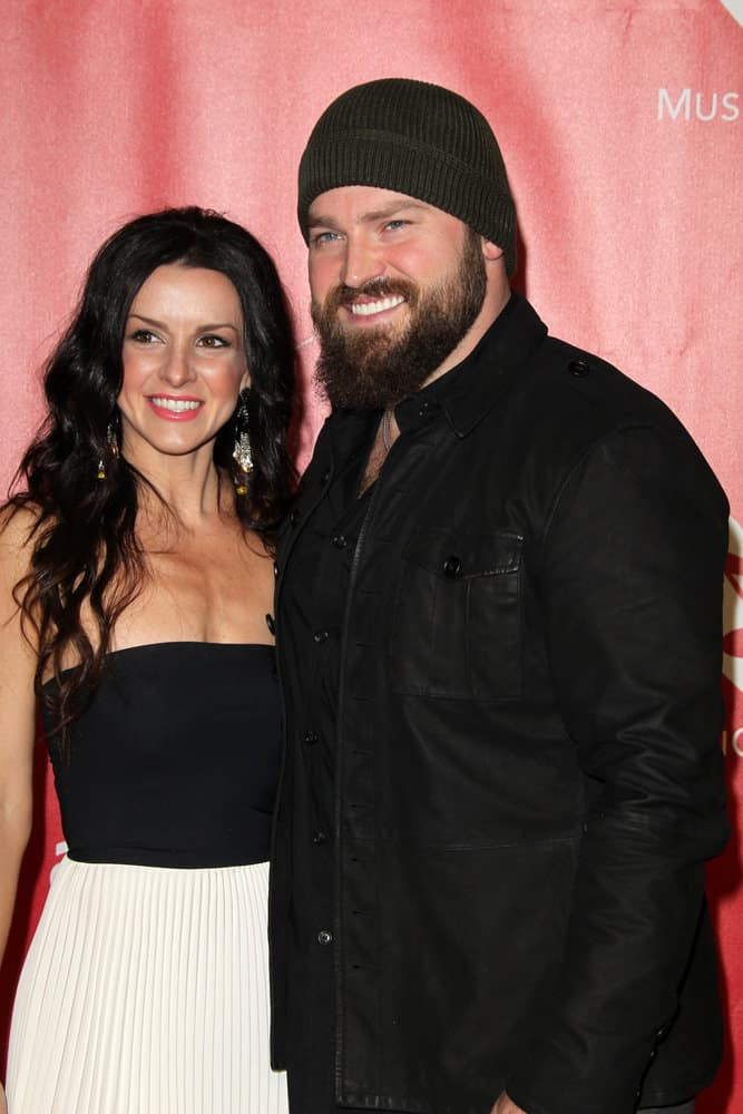 Shelly Brown, Zac Brown arrives at the 2013 MusiCares Person Of The Year Gala at the Los Angeles Convention Center on February 8, 2013 in Los Angeles, CA