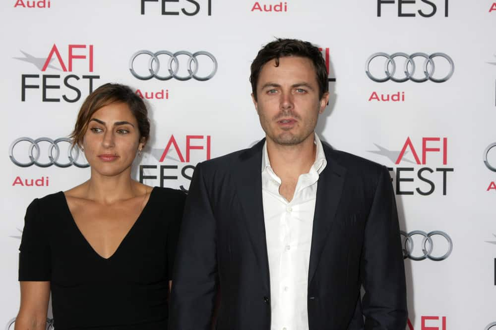 "Summer Phoenix, Casey Affleck at the AFI FEST 2013 Presented By Audi - ""Out Of The Furnace"" Premiere at TCL Chinese Theater on November 9, 2013 in Los Angeles, CA"
