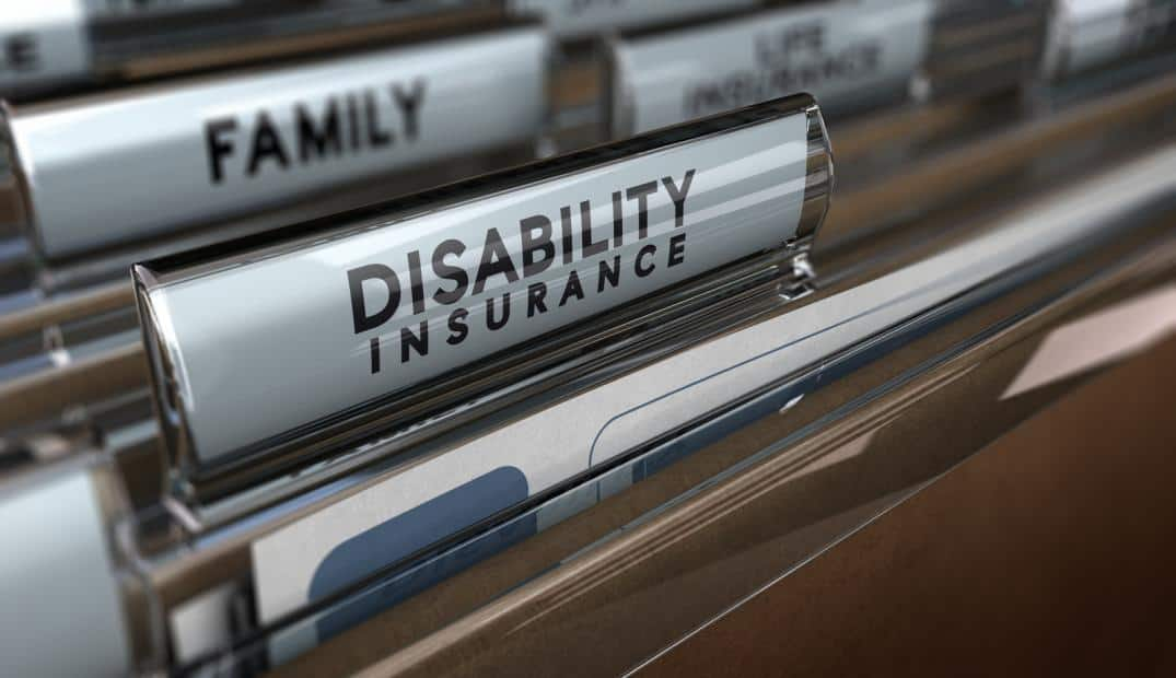 File for disability insurance