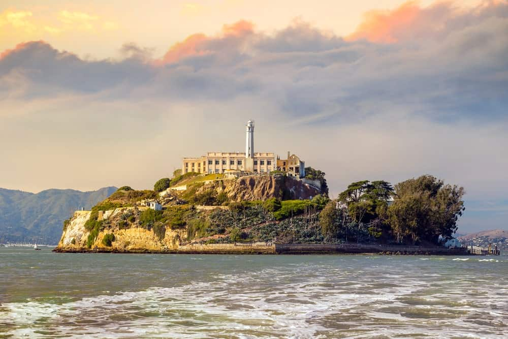 View of Alcatraz Prison Island