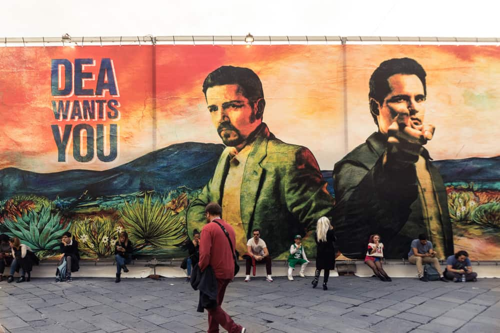 Narcos TV Show billboard