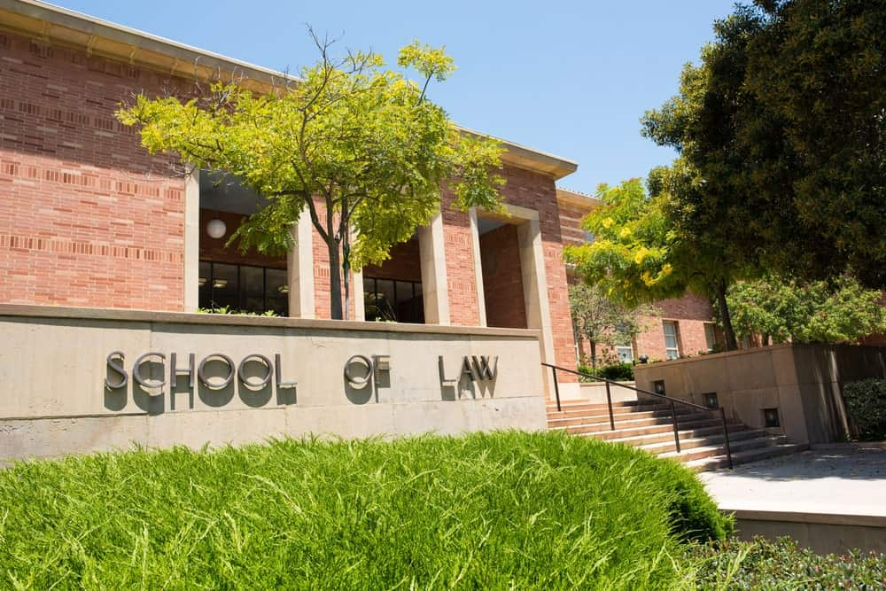 School of Law exterior shot.