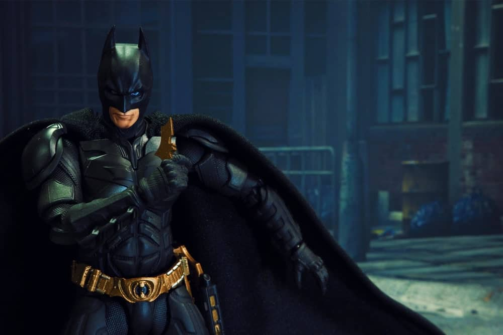 Batman on road