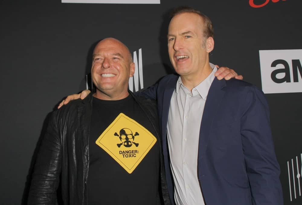 Dean Norris and Bob Odenkirk