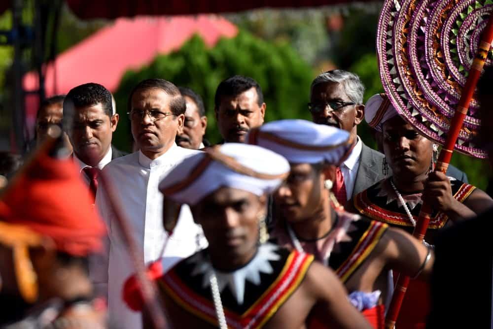 The President of Sri Lanka