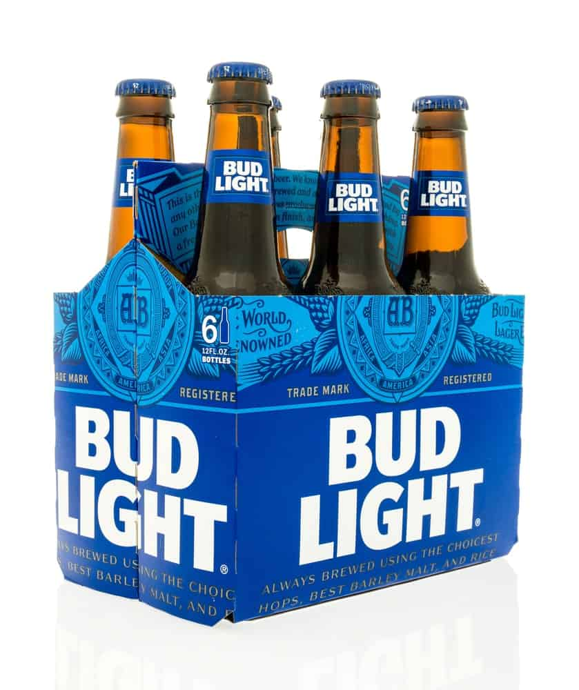 6-pack Bud Light