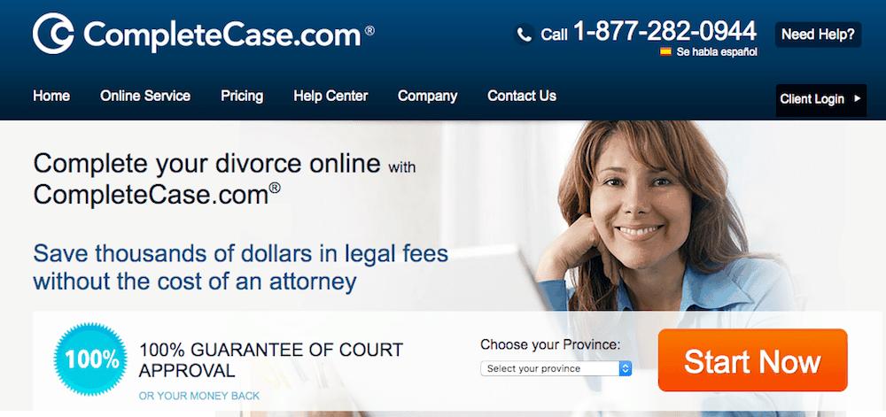 Canadian online divorce service CompleteCase