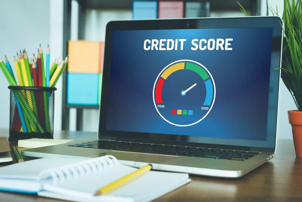 Credit score for credit card application