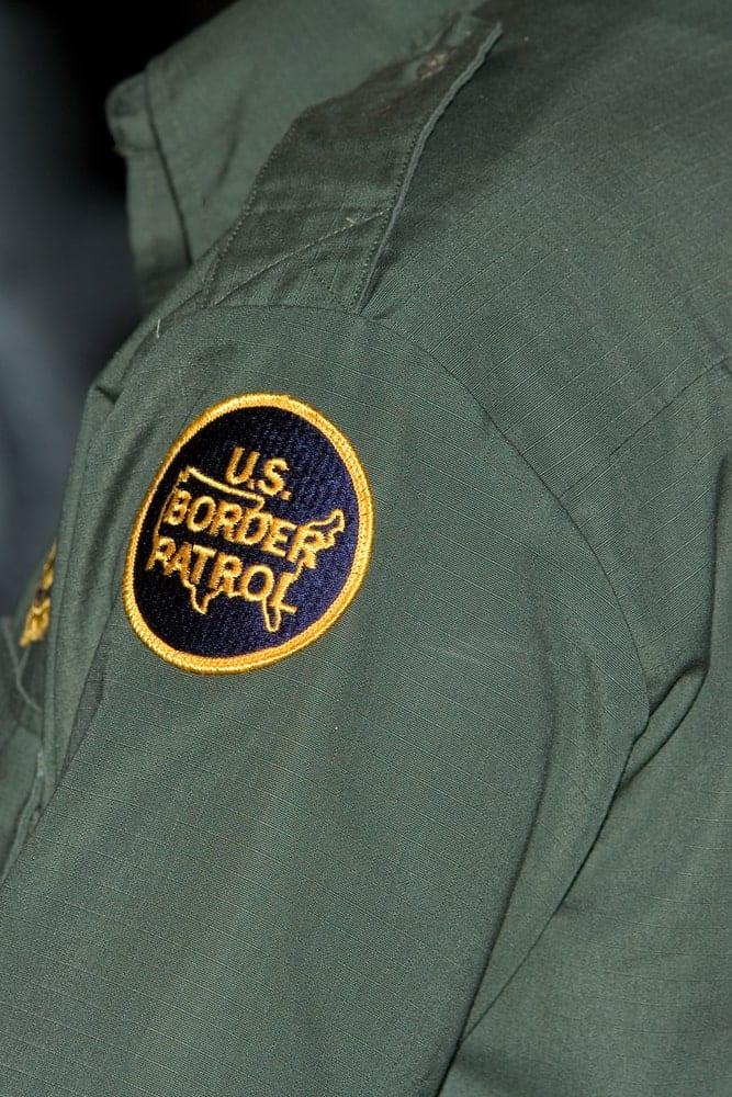 Border patrol agent badge