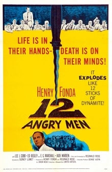 12 Angry Men movie poster