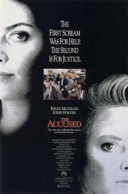 The Accused movie poster