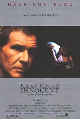 Presumed Innocent movie poster