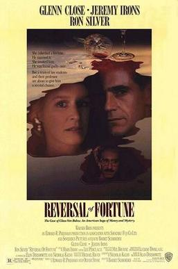 Reversal of Fortune movie poster