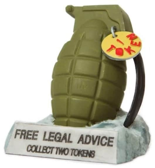 Free legal advice Grenade
